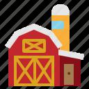 agriculture, barn, farm, garden, silo icon