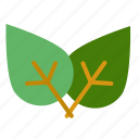 eco, green, leaf, nature icon
