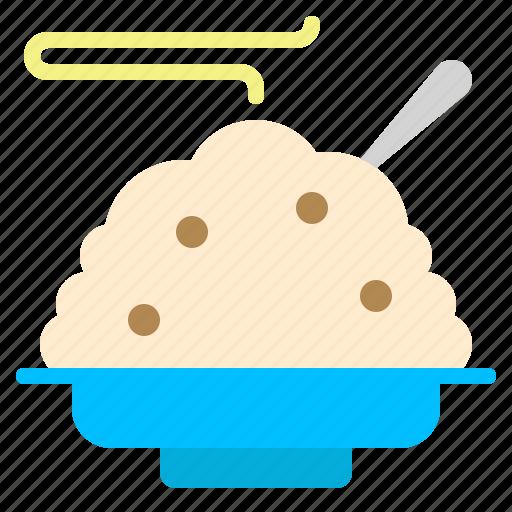 food, porridge, ricebreakfast icon