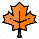 autumn, canada, leaf, maple, nature icon