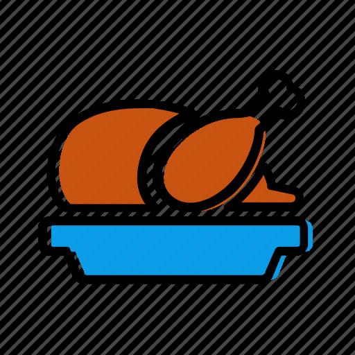 chicken, meat, poeltry, turkey icon