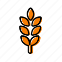 cereal, grain, seed, wheat icon