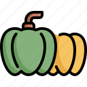 environment, fruit, fruits, green, nature, pepper, plant icon