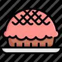 bakery, cake, cupcake, dessert, muffin, pie, sweet icon