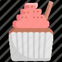 cupcake, dessert, food, muffin, thanksgiving