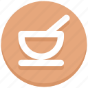 bowl, dish, porridge, spoon, thanksgiving icon