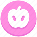 apple, fruit, healthy, thanksgiving icon