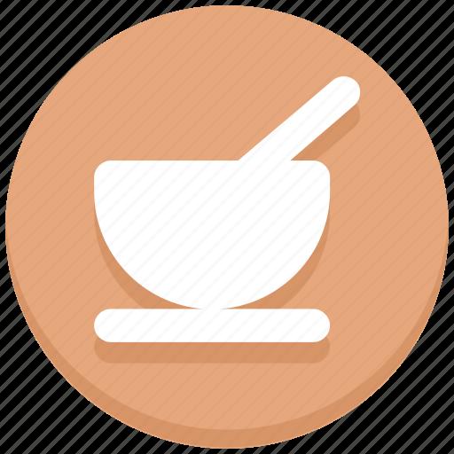 bowl, dish, porridge, spoon, thanksgiving icon