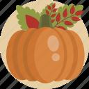 food, illustration, orange, pumpkin, seasonal, thanksgiving, traditonal