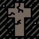 cemetery, cross, death, grave, graveyard
