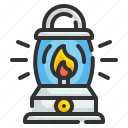 fire, lamp, illumination, light, candle, flame, lantern