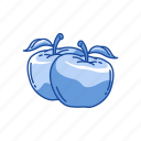 apple, food, fuit, vitamin c icon