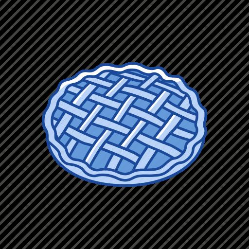 apple pie, pie, pumpkin pie, thanksgiving icon