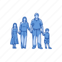 child, family, parent, parent and child icon