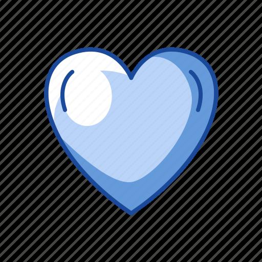 heart, like, love, shape icon