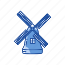 dutch, thanksgiving, wind turbine, windmill icon
