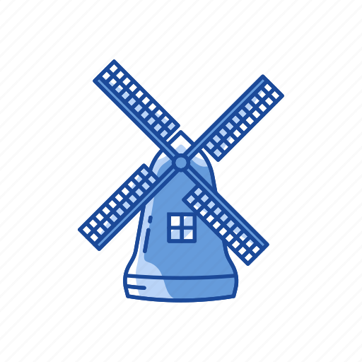 dutch, thanksgiving, wind turbine, windmill icon