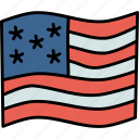 america, american, flag, thanksgiving, united states, us, usa icon