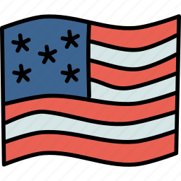 america, american, flag, thanksgiving, united states, us, usa icon