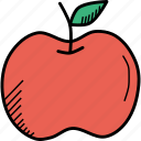 apple, fruit, thanksgiving