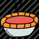 cake, dessert, pie, pumpkin, sweet, thanksgiving icon