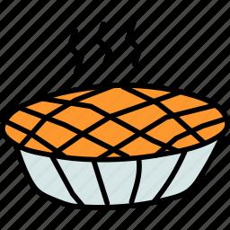 cake, cranberry, dessert, pie, pumpkin, sweet, thanksgiving icon