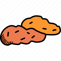 autumn, food, potato, sweet, thanksgiving, vegetable icon