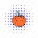 autumn, decoration, isometric, orange, pumpkin, seasonal, thanksgiving icon