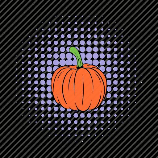 autumn, decoration, isometric, orange, pumpkin, seasonal, thanksgiving icon
