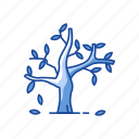 cold water, fall, harvest, leaves icon