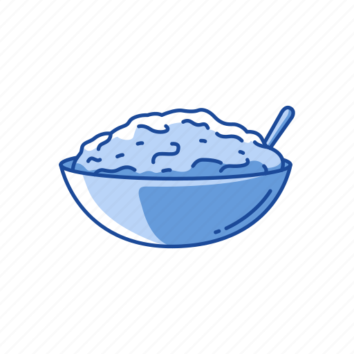 cereal, mashed potatoes, stuffing, thanksgiving icon