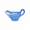 gravy, gravy boat, gravy dish, thanksgiving icon