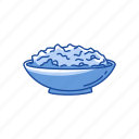 cereal, mash potatoes, potatoes, stuffing icon