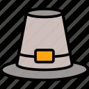 autumn, cap, hat, pilgrims, thanksgiving