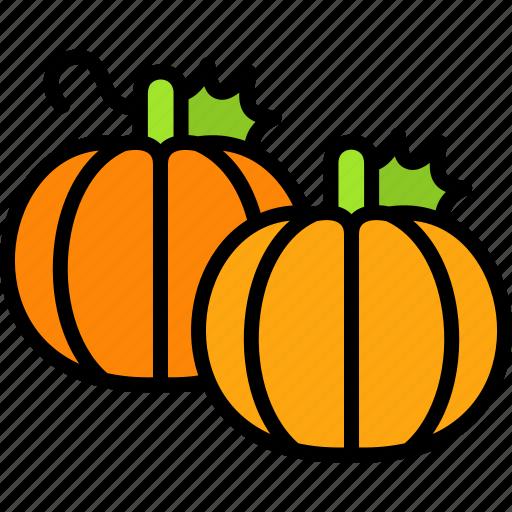 Autumn, pumpkin, pumpkins, thanksgiving, vegetable icon - Download on Iconfinder