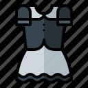 pilgrim, dress, thanksgiving, autumn, holiday icon