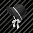 celebration, thanksgiving, holiday, pilgrim bonnet, bonnet, hat icon