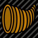abundance, cornucopia, horn, plenty, thanksgiving icon