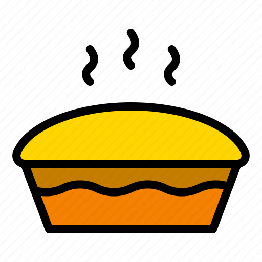 bakery, food, pastry, pie, sweets, thanksgiving icon