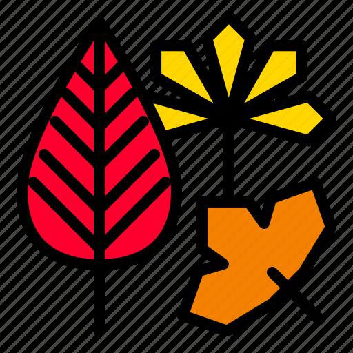 autumn, fall, leaf, thanksgiving icon