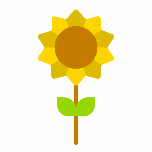 fall, flora, floral, flower, sunflower, thanksgiving icon