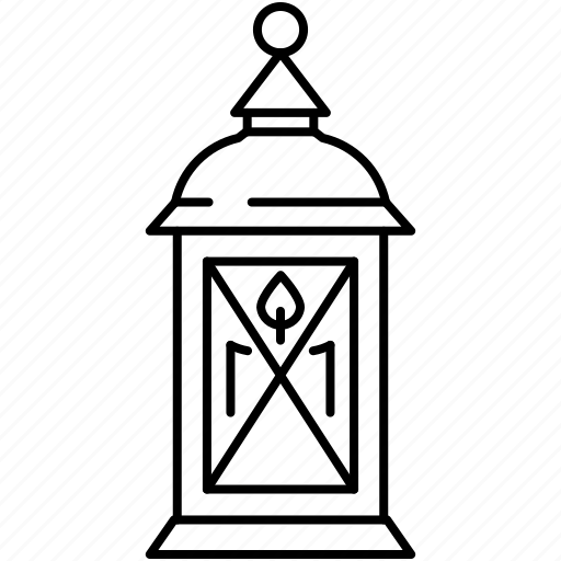 Thanksgiving, candle, lamp, lantern, lighting icon - Download on Iconfinder