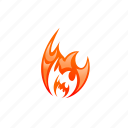 blaze, burn, energy, fire, flame, heat, hot icon