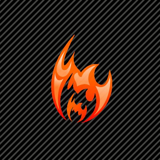 blaze, burn, energy, fire, flame, heat, hot icon