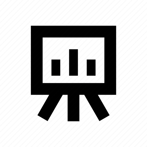 analytics, marketing, present, sales icon