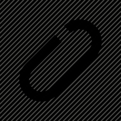 attach, clip, email, paper clip icon