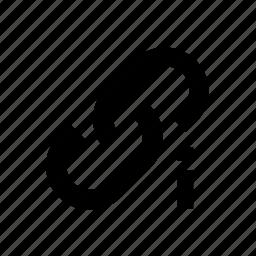 attention, broken, link icon