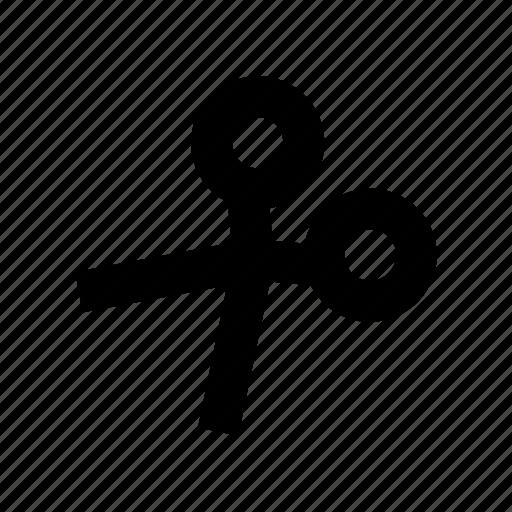 cut, make, scissors icon