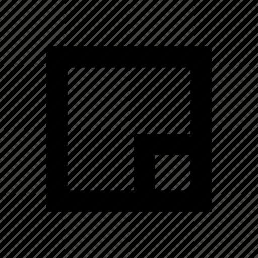 enlarge, full, screen icon