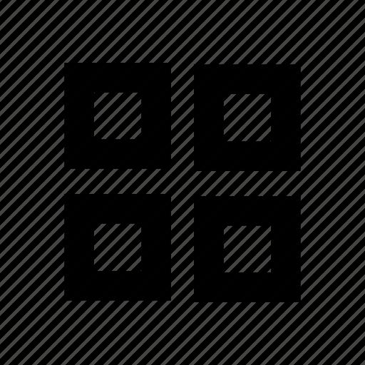 four, gallery, thumbnail icon